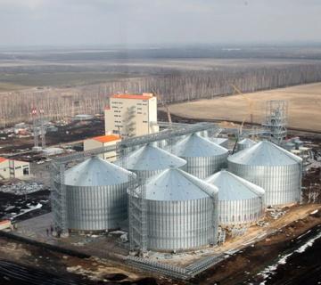 Комбикормовый завод с зернохранилищем ГК «Черкизово»