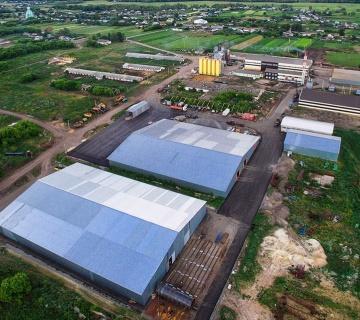 Завод по выработке пищевого растительного масла агрохолдинга «ЭКООЙЛ»